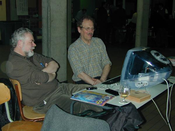 Chris en Roger