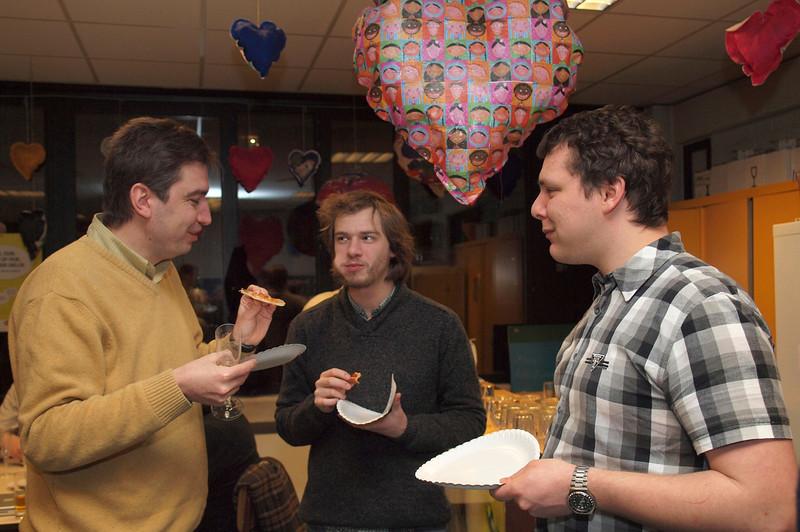 Ruben, Ewout en Jef