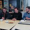 Jacques, Damienne, Nicolas, Luc, jef en Daniel