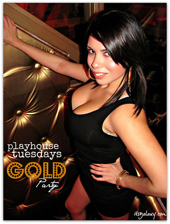 TUESDAY, 12-4-12, GOLD GONE WILD at PLAYHOUSE TUESDAYS
