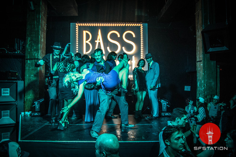 """Photo by Stewart Tomassian<br><br><a href=""""http://factualphotography.com"""">Factual Photography</a><br><br>See event details: http://www.sfstation.com/bass-cabaret-bonnie-and-clydes-valentine-e2046571"""