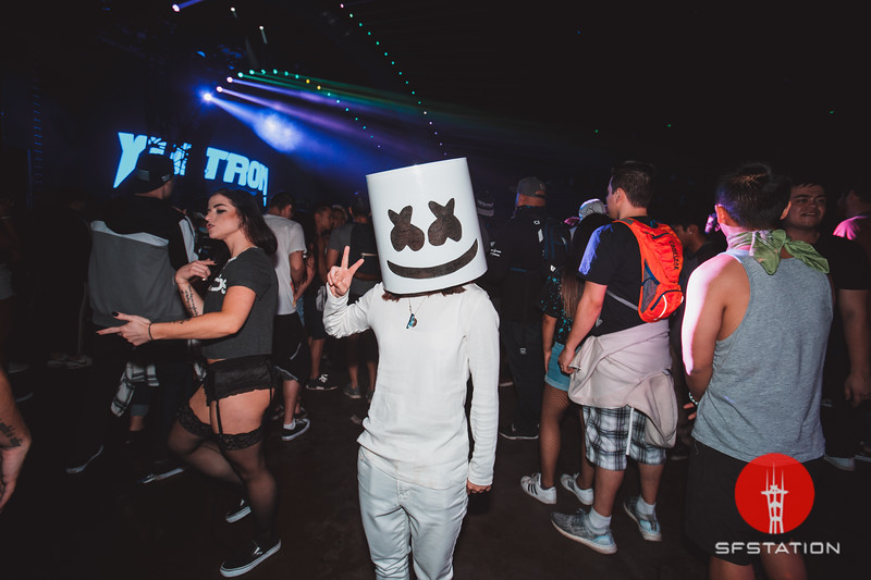 Marshmello, Jan 13, 2018 at Bill Graham Civic Auditorium