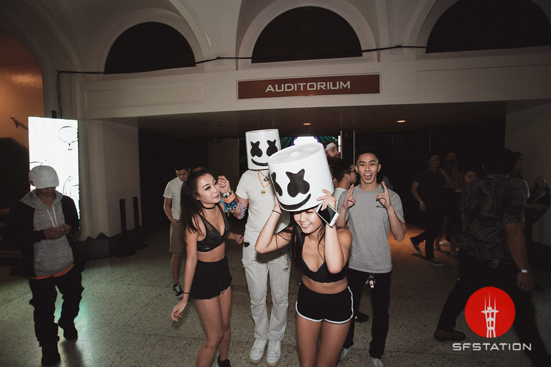 Marshmello, Jan 13, 2018 at Bill Graham Civic Auditorium