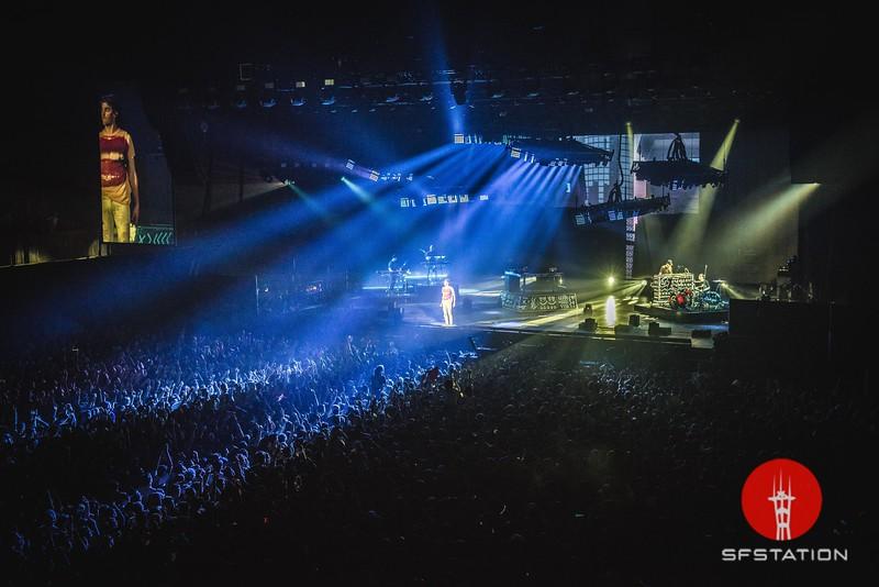 The Chainsmokers, May 5, 2017 at Bill Graham Civic Auditorium