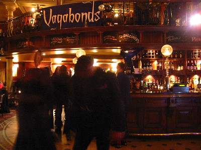 2008 02 23 Vagabonds at The Barrowboy and Banker, London Bridge