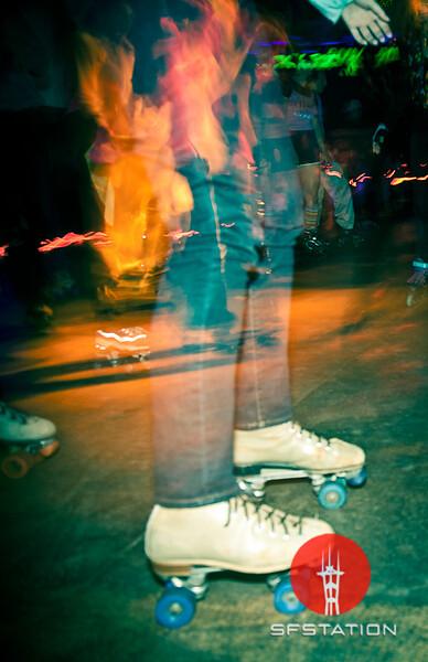 "Photo by Richa Bakshi<br /><br /><b>See event details:</b> <a href=""http://www.sfstation.com/roller-disco-costume-party-e1108291"">Roller Disco Costume Partyt</a>"