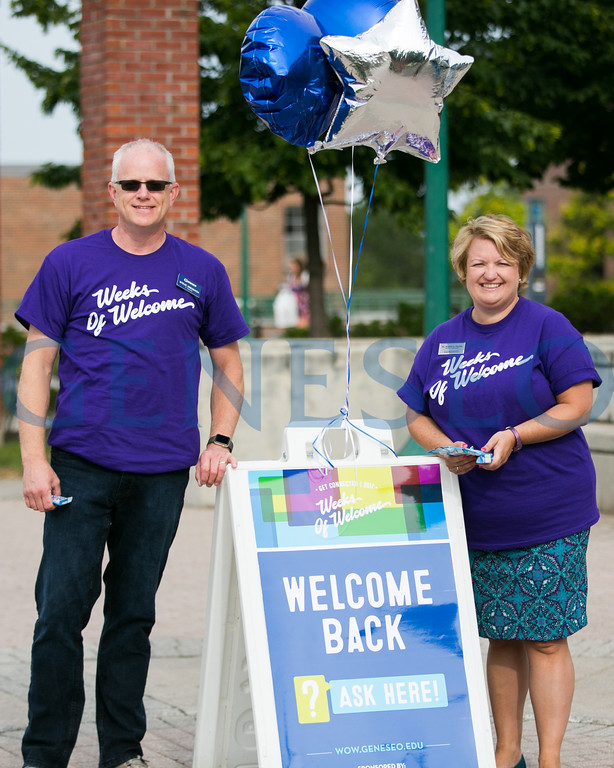 Fall 2017 Campus Greeters Weeks of Welcome KW