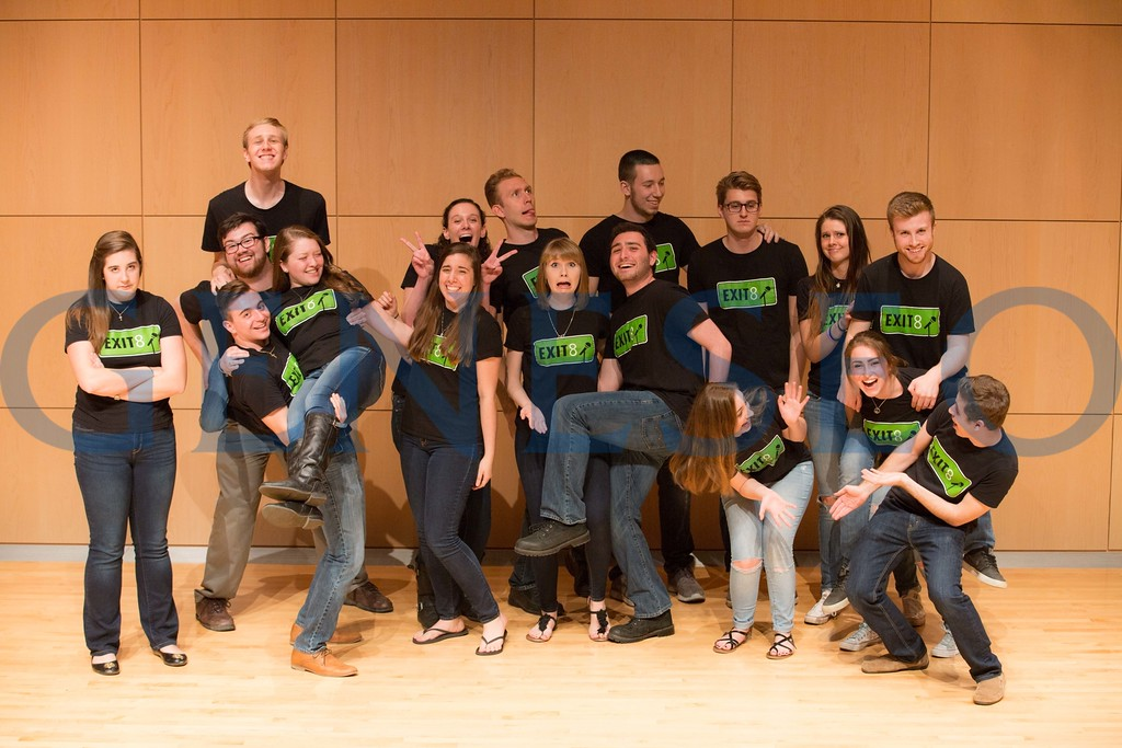 exit 8 a cappella group photo