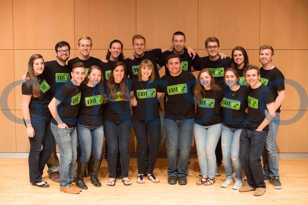 exit 8 a cappella group photo