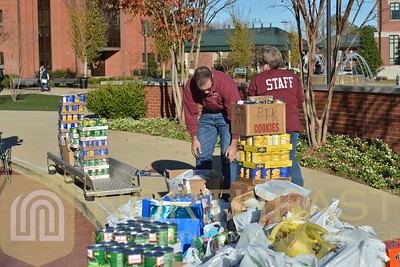 2015-11-19 PTK Food for Families Food Drive