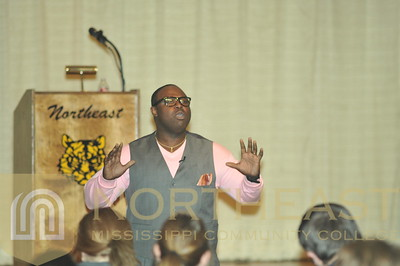 2013-02-12 SGA Hozay Hausley Motivational/Black History Month Speaker