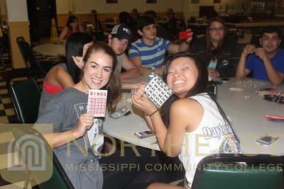 2014-04-23 SGA BINGO Night in Cafeteria