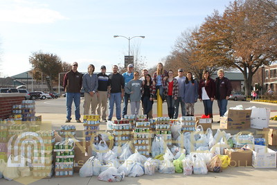 2014-12-04 SGA Food for Families Food Drive