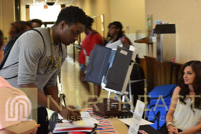 2016-09-14 SGA Constitution Day - Voter Drive