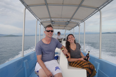 Lake Tanganyika Sundowner - long and fast ride....