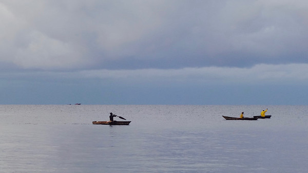 Fishermen in the morning