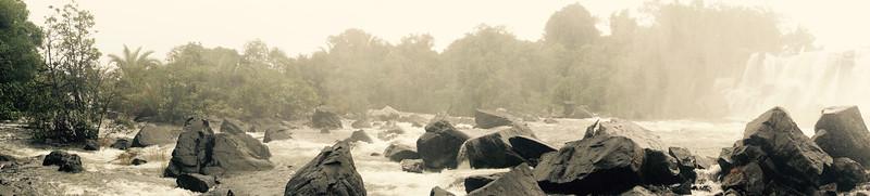 Chishimba Falls - Upper Rapids
