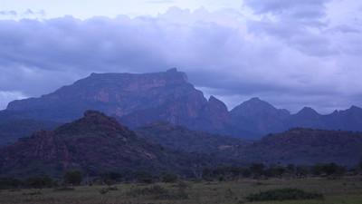 Evening View of Mt.Qadam