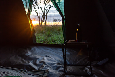 View from your tent
