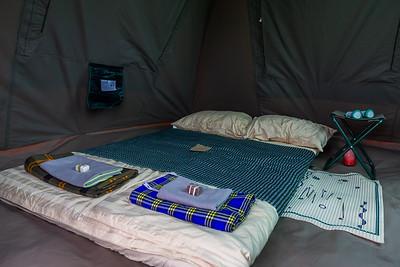 Comfy tent furnishings