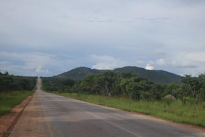 Open roads of Northern Zambia