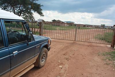 At the Zambia Border !