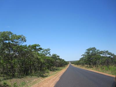 Zambia's long open roads...