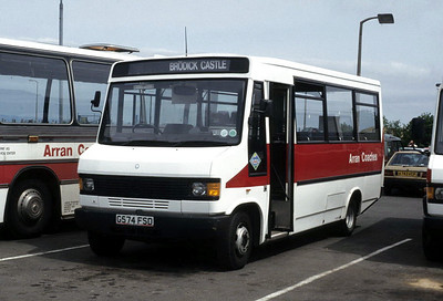 Arran Transport G574ESD Brodick Pier Jun 92