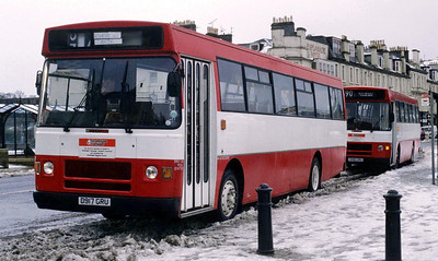 Arran Transport D917GRU Guildford Sq Rothesay 2 Feb 93