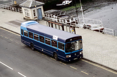 Arran Transport NHA256M Guildford Sq Rothesay Aug 93