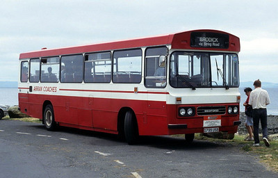 Arran Transport D799USB Blackwaterfoot Jun 92