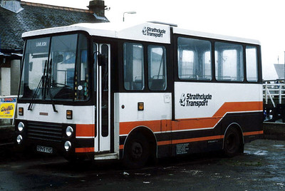 Arran Transport B949YHS Brodick Jul 85