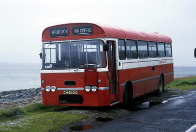 Arran Transport HCS350N Nr Lochranza Jul 85