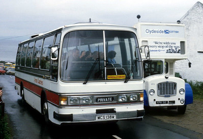 Arran Transport MCS138W Blackwaterfoot Jul 85