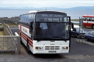 Arran Transport G262EHD Blackwaterfoot Jun 92