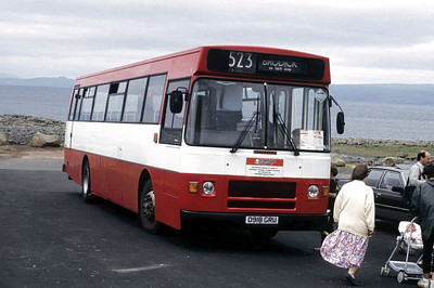 Arran Transport D918GRU Blackwaterfoot 1 Jun 92