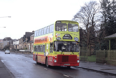 Clydeside 2000 895 Glasgow Road Paisley Dec 91