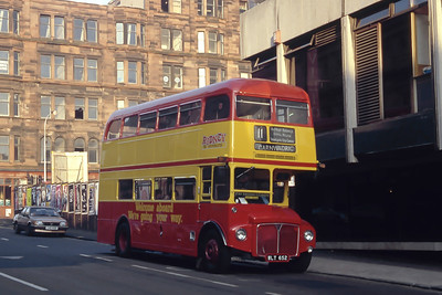 Clydeside 2000_Hire RM652 Renfield Street Glasgow Nov 93