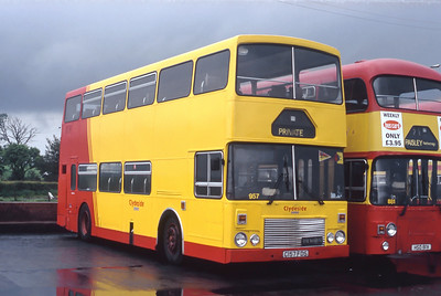 Clydeside 2000 957 Inchinnan Depot May 93