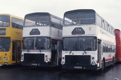 Clydeside 2000 901_912 Johnstone Depot Apr 93