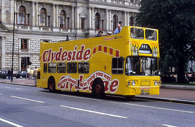 Clydeside 002 George Square Glas Aug 86