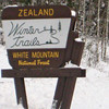 12/10/2011 Zealand Road (cross-country ski along the Zealand River)