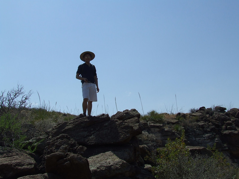 Day 4: Getting permits and dayhike to Lower Burro Mesa Pour-off