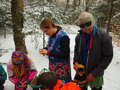 1/19/13 Moosilauke Hike + Cabin Camping PE