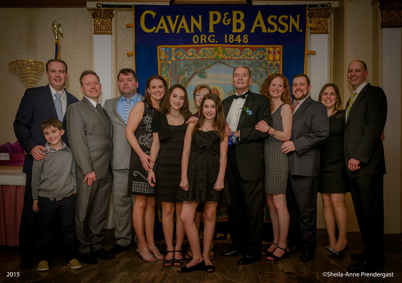 The McGovern Family.  Guest of Honor Micheal McGovern.