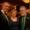 John McGurrin, Vice-President, Mary O'Brien, Board of Directors and Hughie Smith, Board of Directors