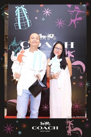 Coach Vietnam New Collection 2018 Photo Booth - WefieBox Photobooth Vietnam - Chụp hình in ảnh lấy liền Sự kiện & Tiệc cưới Toàn Quốc