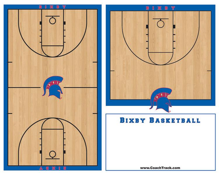 Bixby Basketball 4 x 5 feet OUTLINES