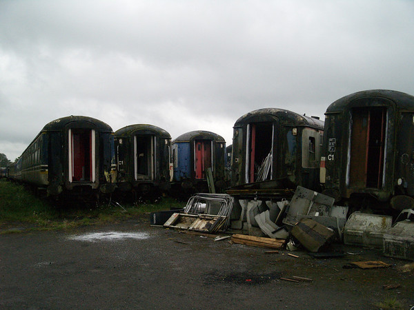 Coaches - Running, Preserved, stored or being scrapped