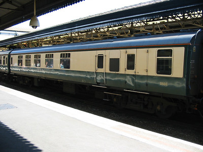 Mk1 Charter train staff coach ex BCK (AU51)